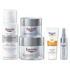 EUCERIN - Estuche Hf Dia Fps 30 50 ml + Hf Luxury Noche + Mist 50 ml + Mini Sun Aa + Mini Hf Concentrate 5 ml