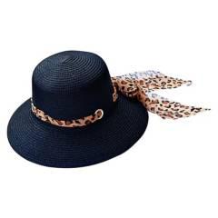 VIVAFELICIA - Sombrero Bucket Animal Negro