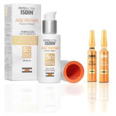 ISDIN - Set Fotoprotección  Rutina Antioxidante Age Repair 50 ml + 2 amopollas Day&Night