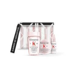 KERASTASE - Set Discovery Genesis Rutina Completa con Estuche Shampoo 80 ml + Máscara 75 ml + Spray 45 ml