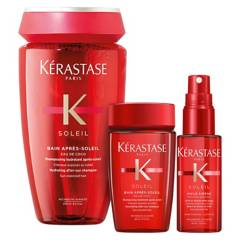 KERASTASE - Set Soleil Shampoo 250 ml + Shampoo 80 ml + Texturizante 45 ml