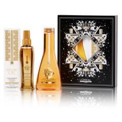 LOREAL PROFESSIONNEL - Set Dupla Brillo Sublime Aceite 100ml + Shampoo 250 ml Mythic Oil