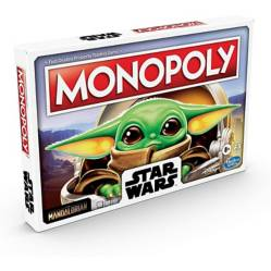 HASBROGAMING - Monopoly Mandalorian The Child Star Wars - Español