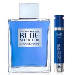 ANTONIO BANDERAS - Blue Seduction 200 ml EDT + Blue Seduction Doses 30 ml