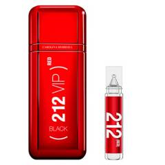 CAROLINA HERRERA - Perfume Hombre Compra y Prueba 212 Vip Black Red 100 Ml