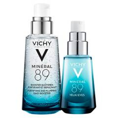 VICHY - Set Fortificante Mineral 89 50 ml + Mineral ojos 15 ml