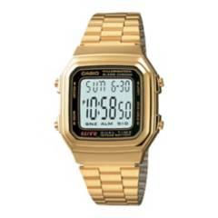 Casio - Reloj  unisex A178WGA-1ADF