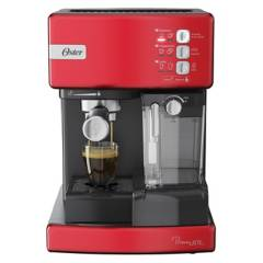 OSTER - Cafetera automática de espresso roja Oster® PrimaLatte¿ BVSTEM6603R