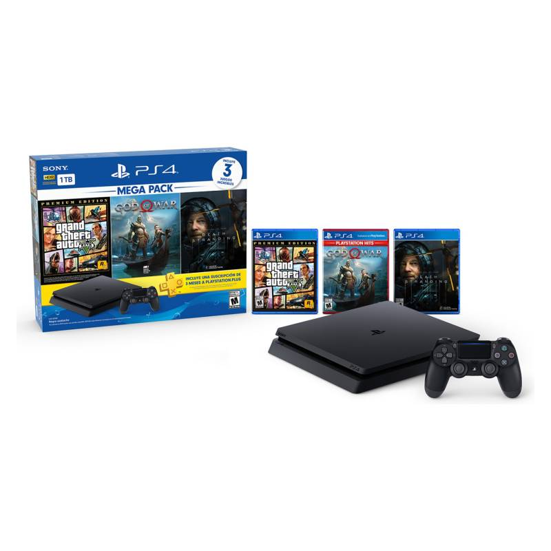 Sony - PlayStation MEGA PACK 13 (GTA V, GOD, Death Stranding)