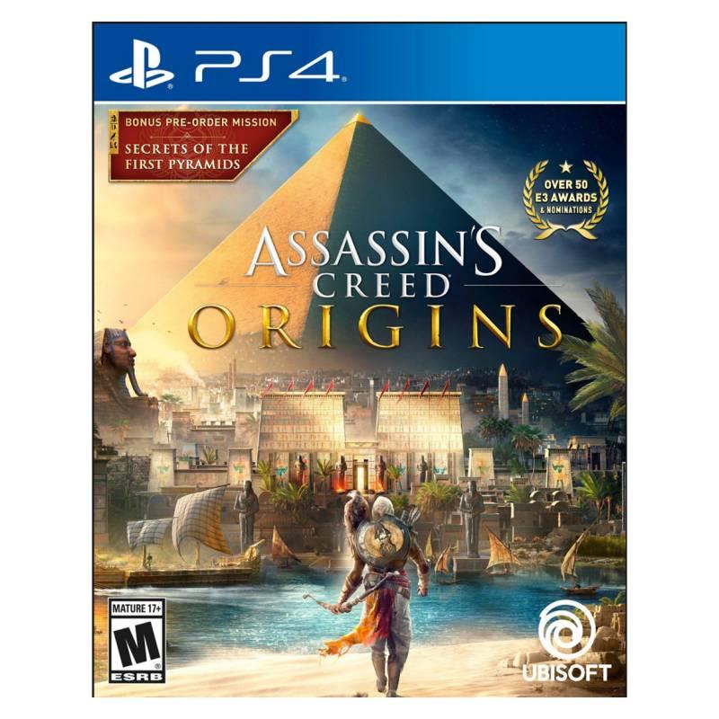 UBISOFT - Assassins Creed Origins Spanish Ps4