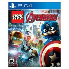 Warner Bros - Lego Marvels Avengers   Ps4