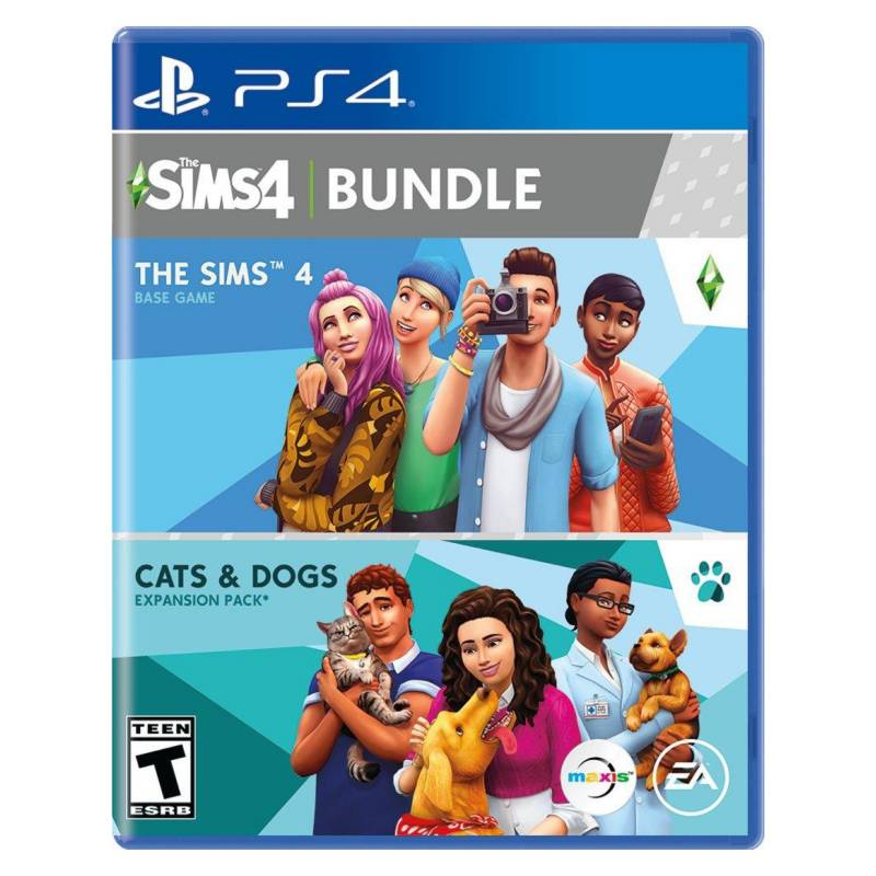 Electronic Arts - The Sims 4 Plus Cats Dogs Bundle Refresh Ps4