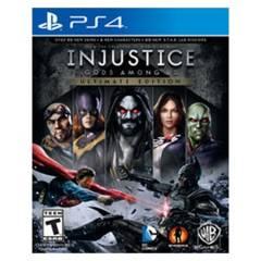 WARNER BROS - Injustice Gods Among Us Ultimate Edition Ps4