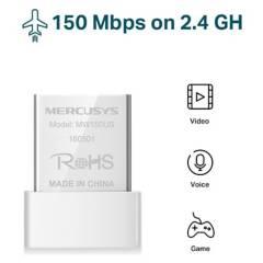 MERCUSYS - Adaptador Wifi Nano Usb N150 Mbps