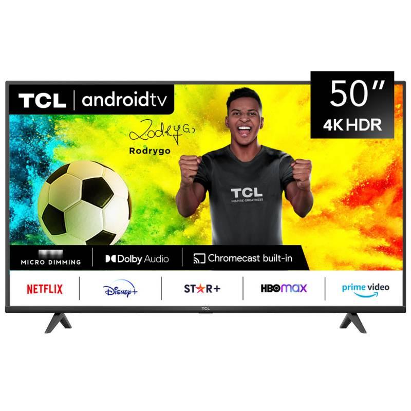 """TCL - LED 50"""" TCL-50P615 4K Ultra HD Smart TV"""