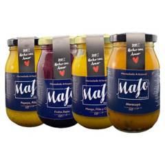 MAJO GOURMET - Pack 4 Mermeladas Majo sin Azucar 230Gr