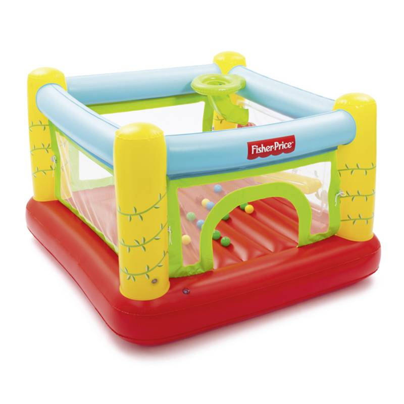 FISHER PRICE - Castillo Inflable Electrico Fisher Price 175 Cm
