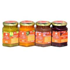SABORES QUE HABLAN - Mermeladas Gourmet Pack 4