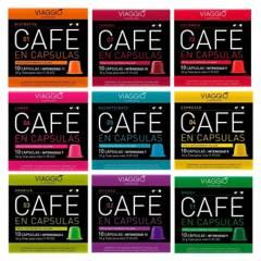VIAGGIO ESPRESSO - Pack 120 Cápsulas Café Viaggio