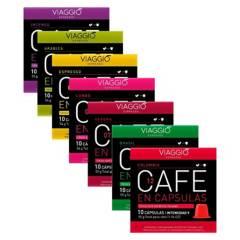 VIAGGIO ESPRESSO - Pack 90 Cápsulas Café Viaggio