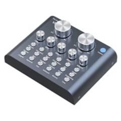 Generico - Tarjeta De Sonido Externa Mixer 2 Canales