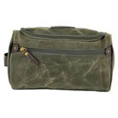 TOPWOLF - Bolso Wash Bag Canvas Verde Oliva 978-4