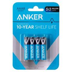 ANKER - Pilas Alcalinas AAA 8-PACK