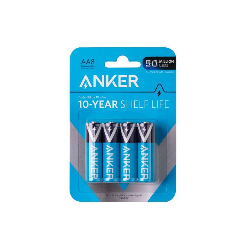 ANKER - Pilas Anke Alcal AA 8-Pack