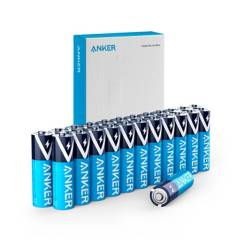 ANKER - Pilas Alcalinas AA 24-PACK