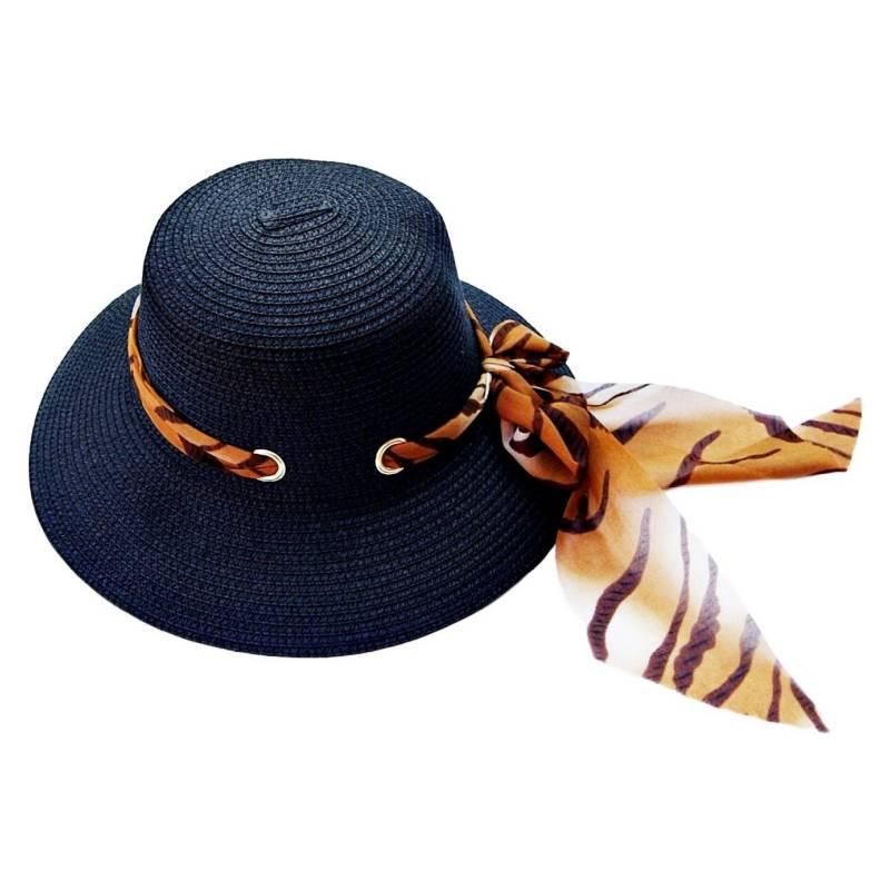 VIVAFELICIA - Sombrero Bucket Zebra Negro