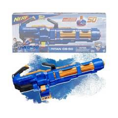 Hasbro - Nerf Titan Cs-50 Lanzador Elite Motorizado
