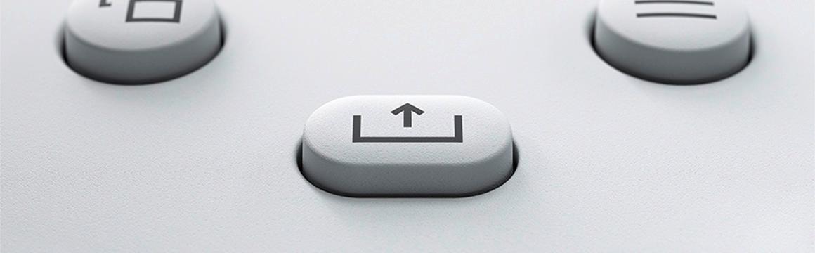 Control Wireless Xbox Robot Blanco
