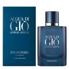 GIORGIO ARMANI - Perfume Hombre Profondo Acqua di Gio 40Ml