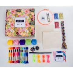 MY KIT - Kit de Materiales para Bordar