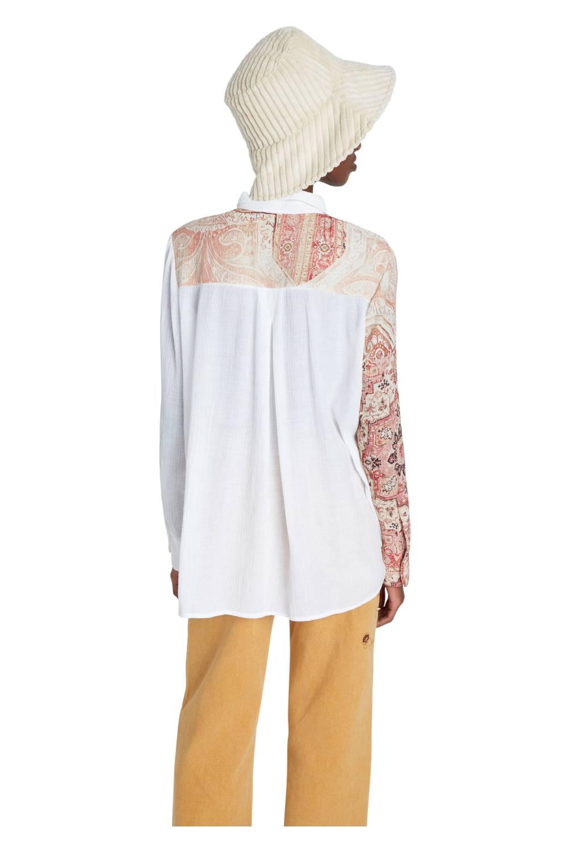 DESIGUAL - Camisa Manga Larga Mujer