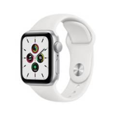 Apple - Apple Watch SE 40mm Silver White