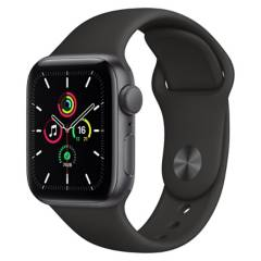 Apple - Apple Watch SE 40mm Space Grey Black