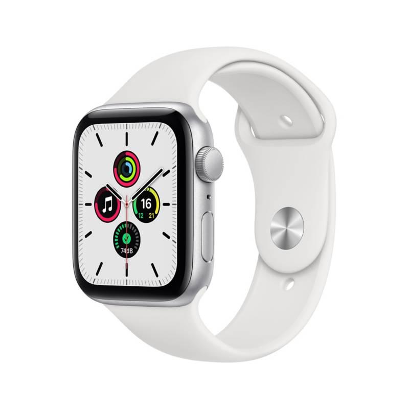 APPLE - Apple Watch SE 44mm Silver White