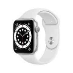 APPLE - Apple Watch Series 6 44mm Silver White