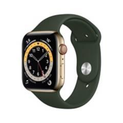 APPLE - Apple Watch Series 6 44mm GPS+Cellular Green Acero Inoxidable