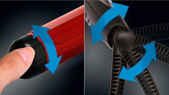 ondulador gama, ondulador, ondulador con regulador, rizador, buclera