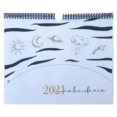 DIOGENESPAPELERIA - Calendario Ilustrado de Pared 2021