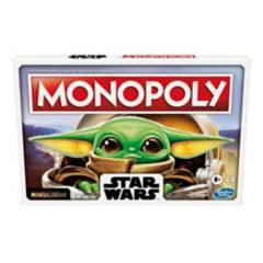 MONOPOLY - Juegos De Mesa Hasbro Gaming Monopoly Mandalorian The Child Baby Yoda Grogu