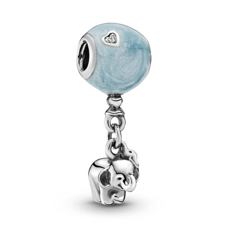 PANDORA - Charm elefante y globo azul