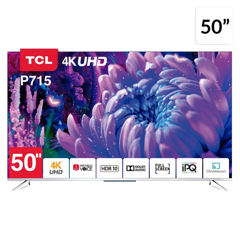Smart Tv 50 Tcl 50P715 Android 4K Uhd
