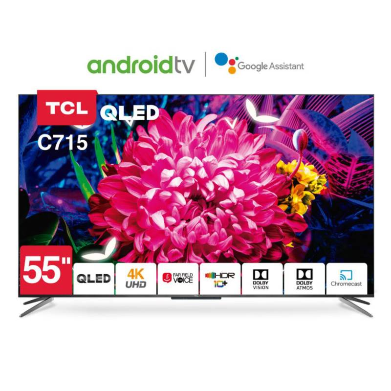 Smart Tv 55 Tcl 55C715 Android 4K Uhd Qled