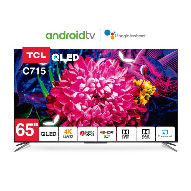 Smart Tv 65 Tcl 65C715 Android 4K Uhd Qled