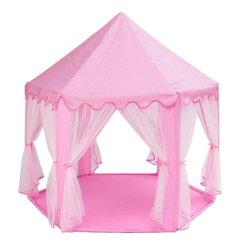 ACTUAL - Carpa Infantil Castillo Princesa Rosada