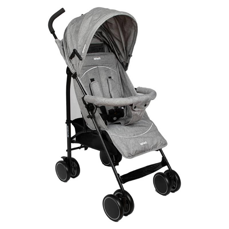 INFANTI - Coche Paseo Adventure Grey