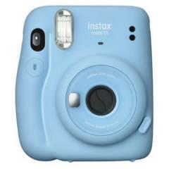 Fujifilm - Cámara Instantanea Instax Mini 11 - Sky Blue